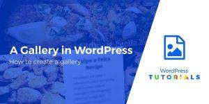 gallery-in-wordpress