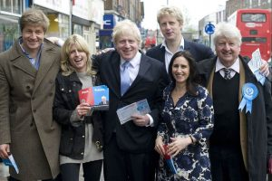 family of Boris Johnson