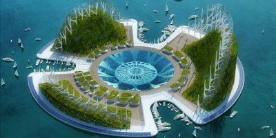 artificial power link islands