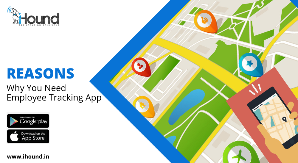Employee Location GPS Tracking App