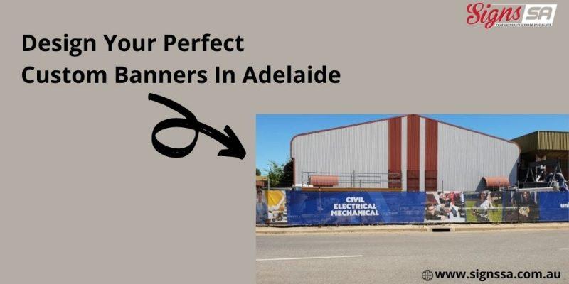 custom banners Adelaide
